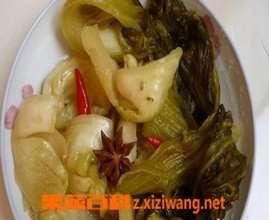 老坛酸菜的腌制方法